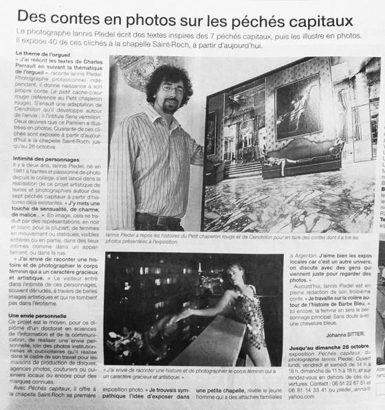 Ouest france et le journal de l orne iannis pledel photographe - Ouest france le journal gratuit ...