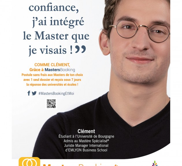 Mastersbooking campaign