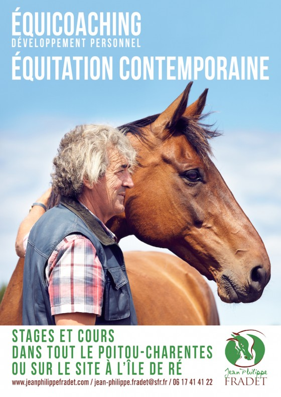 Affiche Equitation Equicoaching Fradet